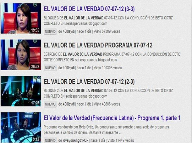 "Video de ""El Valor de la Verdad"" la rompe en YouTube"