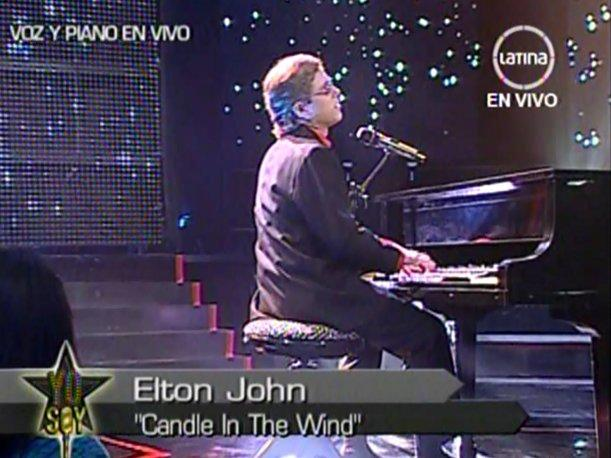 Yo Soy: Elton John se despidi&oacute; con &quot;Candle in the Wind&quot;