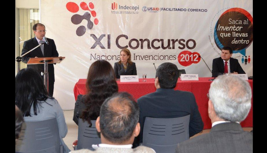 FOTOS: Indecopi lanza XI Concurso Nacional de Invenciones&rlm;