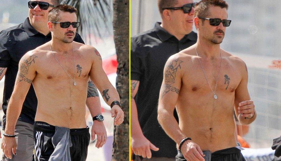 FOTOS: Colin Farrell le sube la temperatura a R&iacute;o de Janeiro