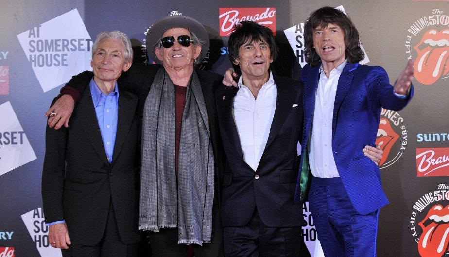 FOTOS: Los Rolling Stones juntos en inauguraci&oacute;n en exposici&oacute;n fotogr&aacute;fica en su honor