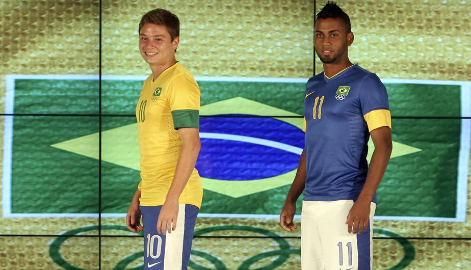 FOTOS: Brasil present&oacute; los uniformes que utilizar&aacute; en los Juegos Ol&iacute;mpicos de Londres 2012 