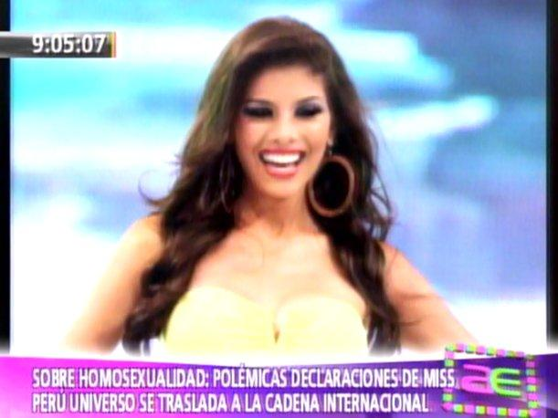 VIDEO: Miss Perú Universo Cindy Mejía fue criticada en CNN
