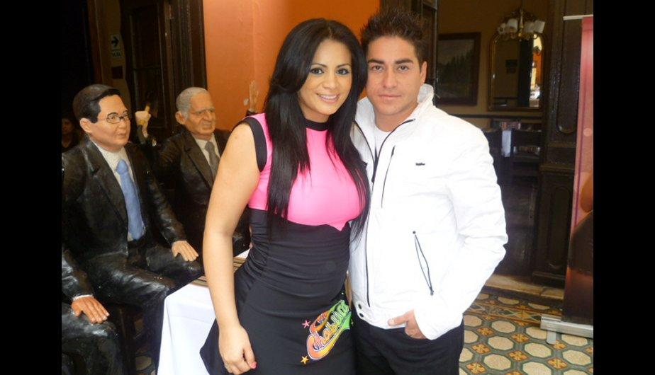 Leslie Moscoso se luce junto a su pareja Luis S&aacute;nchez (FOTOS)