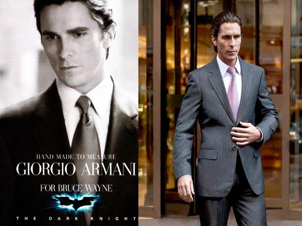 Batman se viste de Armani