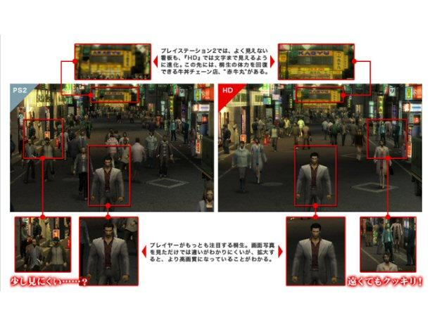 Confirmado: Yakuza 1&amp;2 HD Edition para Playstation 3