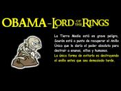 Juego Online - Obama Lord of the Rings