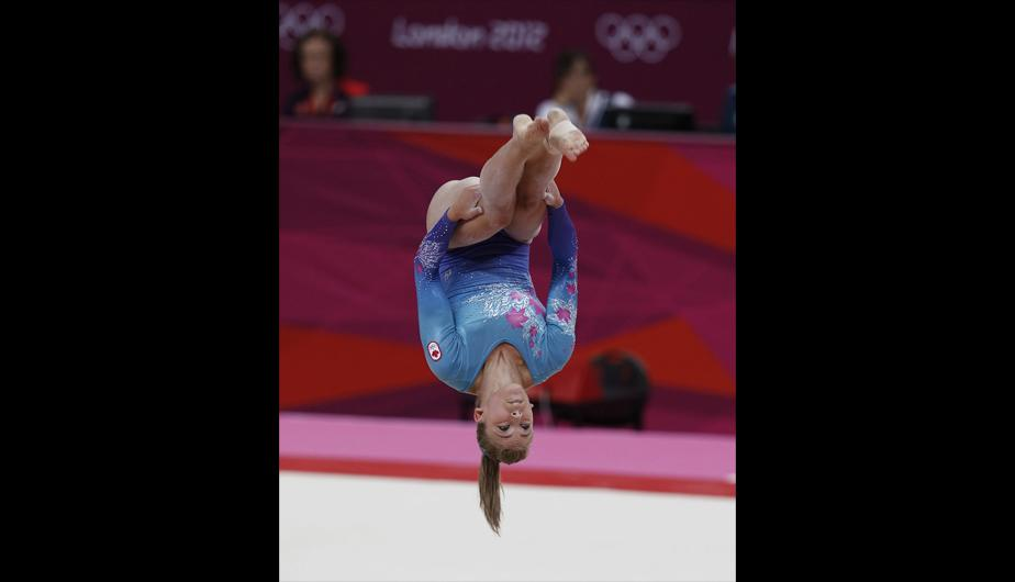Londres 2012: As&iacute; se preparan las gimnastas para la competencia (FOTOS)