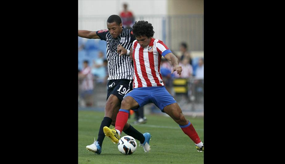 Alianza Lima fue goleado por el Atl&eacute;tico Madrid (FOTOS)