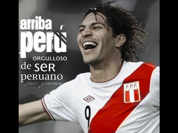 Paolo Guerrero: &quot;&iquest;Qu&eacute; peruano no est&aacute; orgulloso de ser peruano? Yo lo estoy, amo el Per&uacute;&quot;