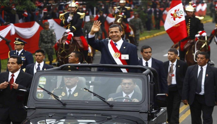 Asi fue la llegada de Ollanta Humala a Parada Militar por Fiestas Patrias (FOTOS)