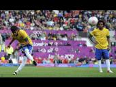 Londres 2012: Neymar sigue brillando en la Olimpiadas (FOTOS)