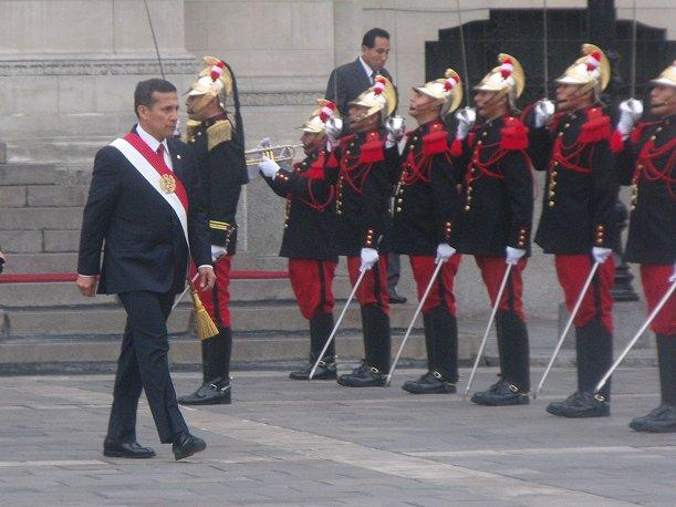 Ollanta Humala no particip&oacute; en ceremonia de Acci&oacute;n de Gracias de evang&eacute;licos