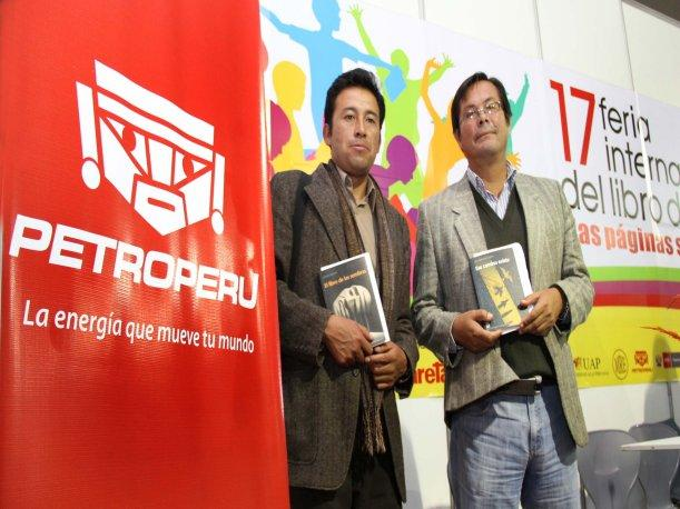 Petroper&uacute; present&oacute; las obras ganadoras del Cop&eacute; 2011 en la 17 Feria del Libro