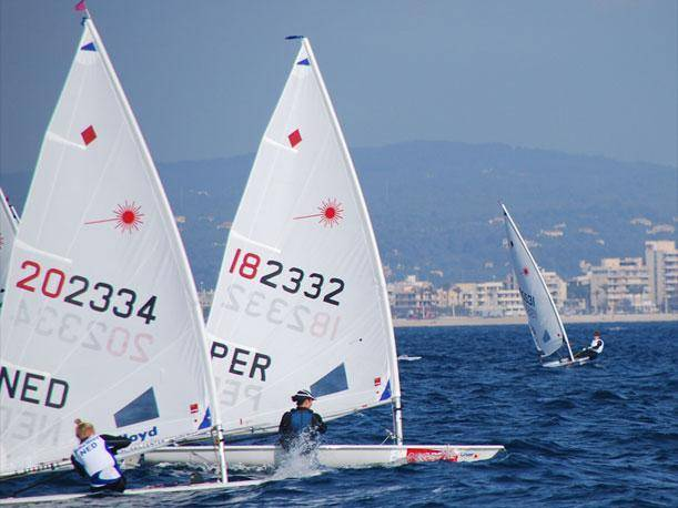 Paloma Schmidt sigue rezagada en la prueba de laser radial de Londres 2012