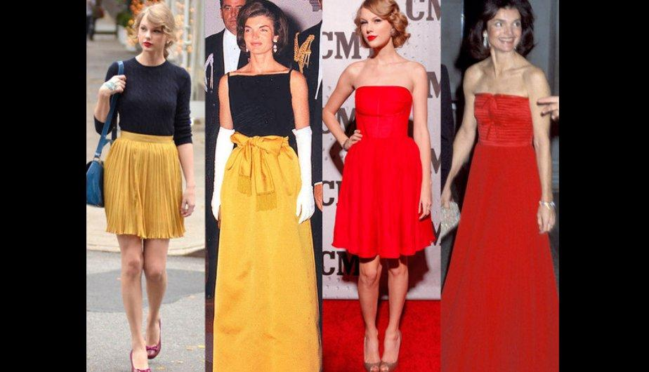 Taylor Swift copia los estilos de Jackie Kennedy (FOTOS)