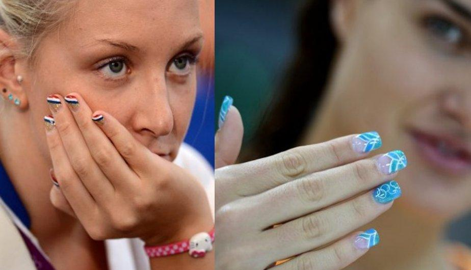 Moda Ol&iacute;mpica: Las atletas llevan sus u&ntilde;as al estilo Nail Art (FOTOS)