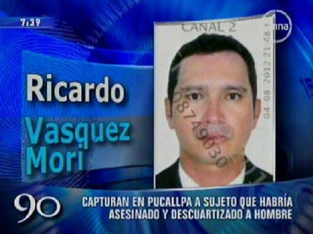Pucallpa: Capturan a periodista autor de descuartizar y arrojar restos en maletas (VIDEO)