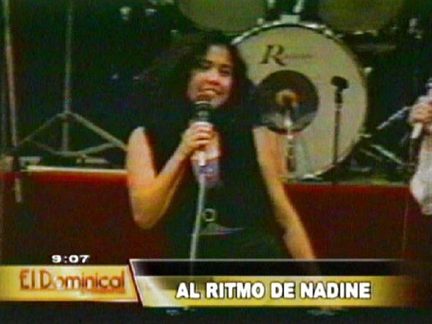 La faceta no conocida de Nadine Heredia como cantante en la universidad (VIDEO)