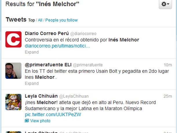 In&eacute;s Melchor es sensaci&oacute;n en Twitter