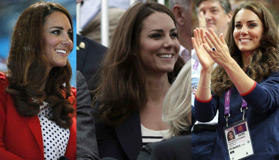 Los looks olímpicos de Kate Middleton en Londres 2012 (EFE)