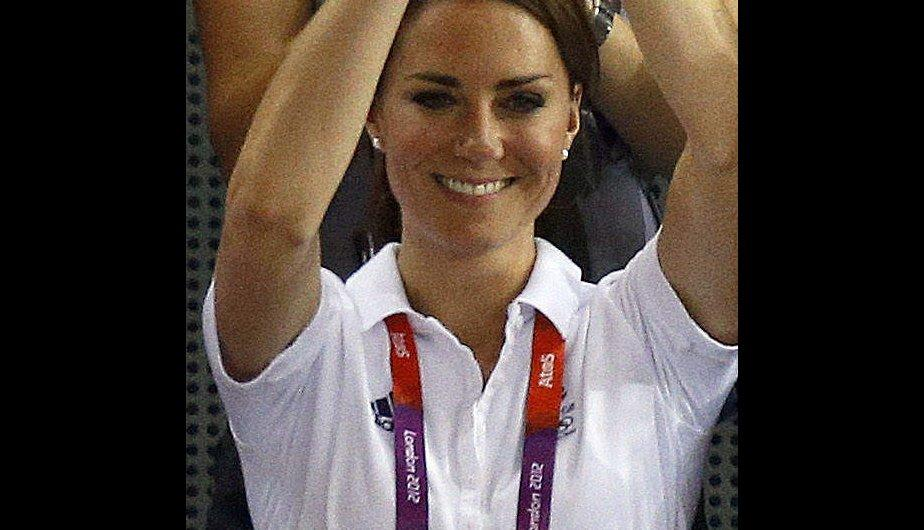 Los looks ol&iacute;mpicos de Kate Middleton en Londres 2012 (FOTOS)