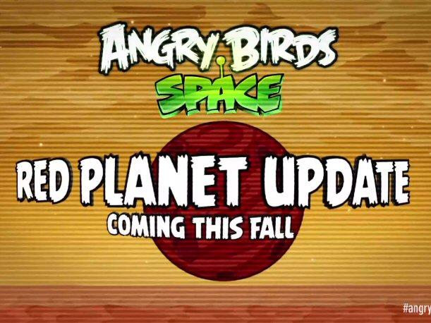 El planeta rojo llega a Angry Birds Space