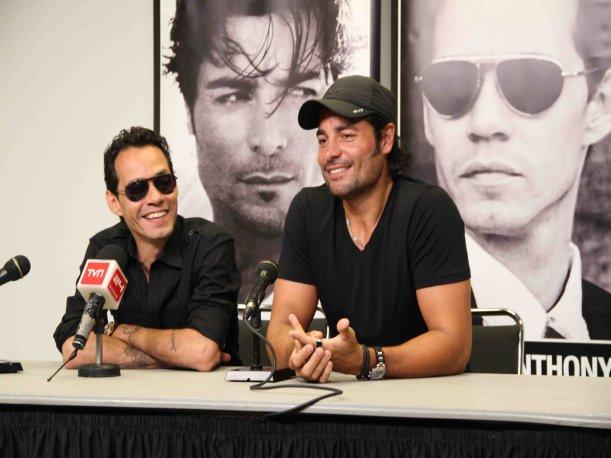 Marc Anthony y Chayanne remecerán juntos Lima