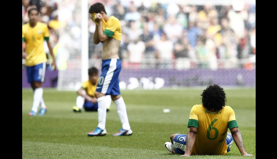 Londres 2012: &iquest;Maldici&oacute;n? Brasil se queda nuevamente sin la medalla de oro en f&uacute;tbol (FOTOS)