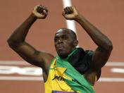 Usain Bolt cierra el estadio con doble triple y récord mundial en 4x100