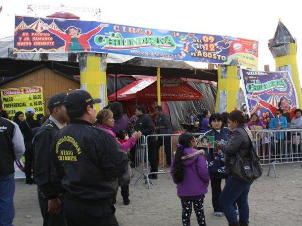 Chimbote: Diez heridos en circo donde se presentaba La Chilindrina