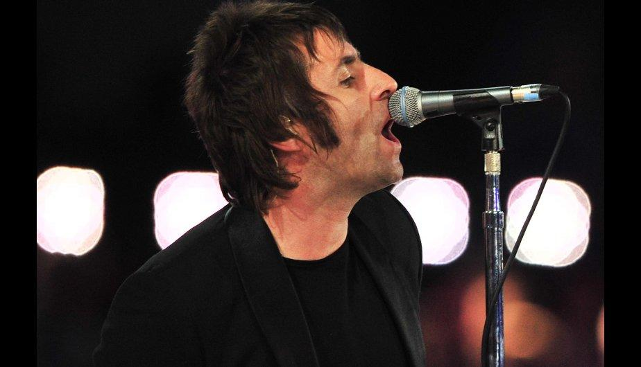 "Liam Gallagher interpretó ""Wonderwall"" en Londres 2012 (FOTOS)"