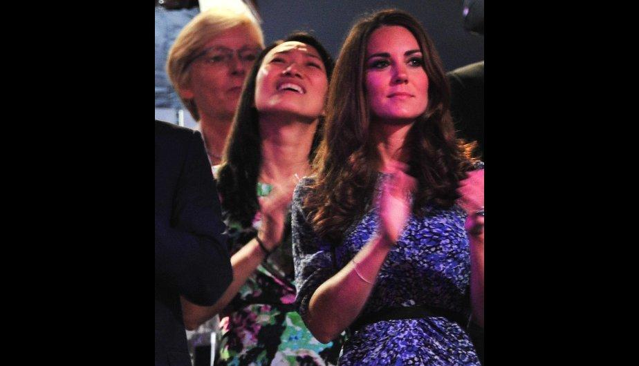 Kate Middleton robó miradas con su look en la clausura de Londres 2012 (FOTOS)