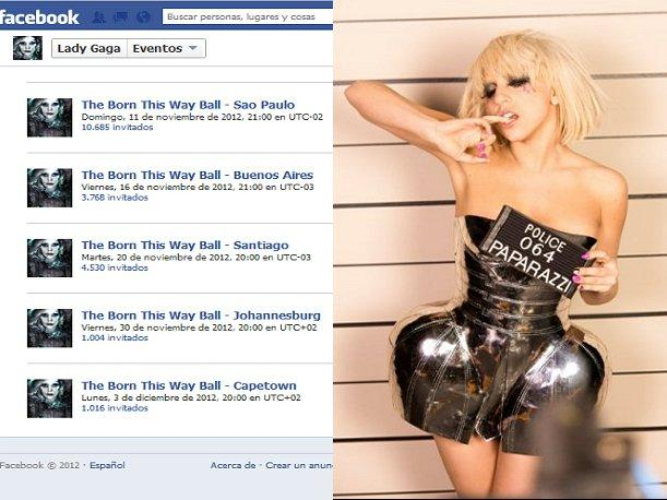 Lady Gaga borra evento anunciando concierto en Lima