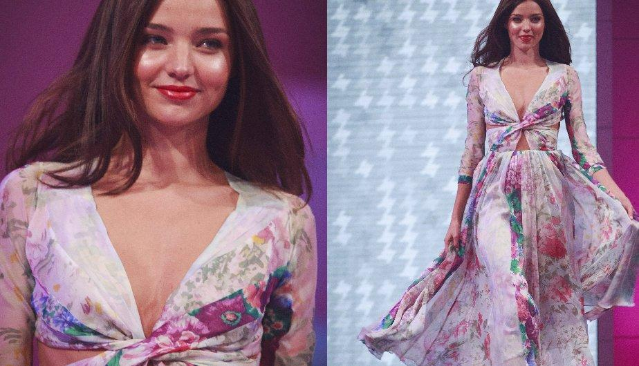 Miranda Kerr presenta las creaciones de Zimmerman (FOTOS)