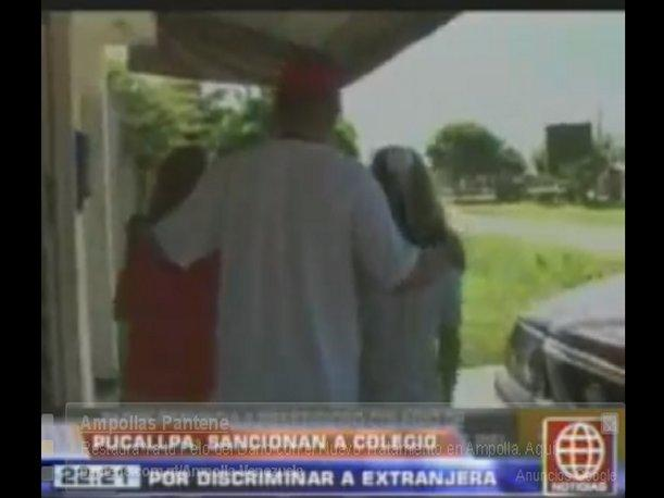 Pucallpa: Sancionan a colegio evangélico por discriminar a extranjera (VIDEO)