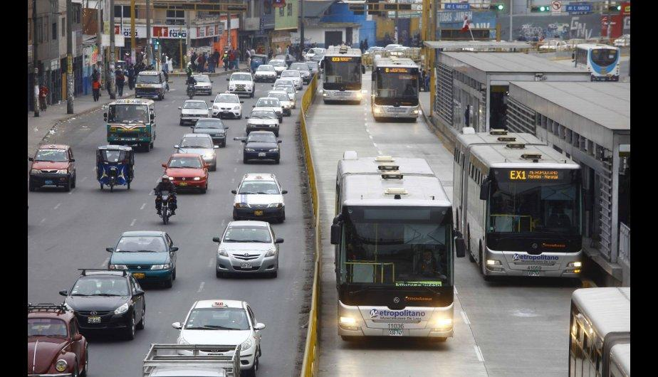 Lime&ntilde;os tomaron sus precauciones frente al paro de transportistas (FOTOS)