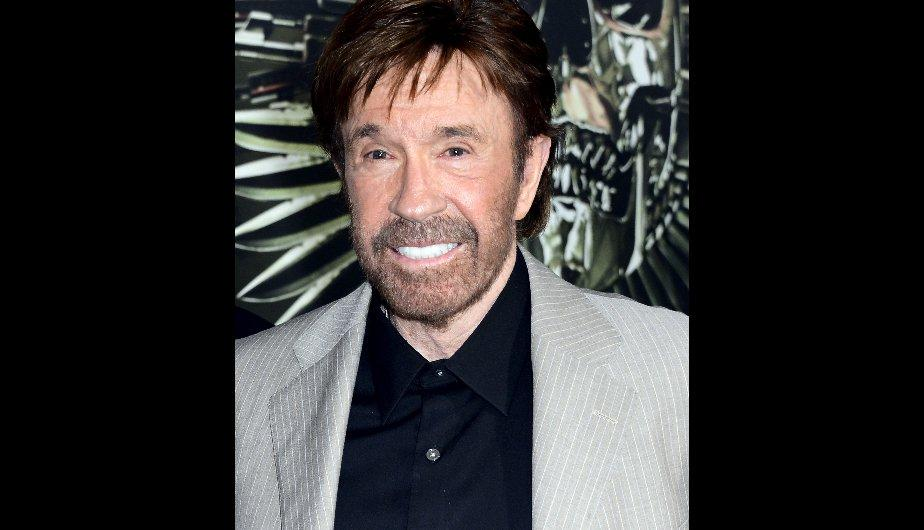 Chuck Norris y los Indestructibles paralizan California (FOTOS)