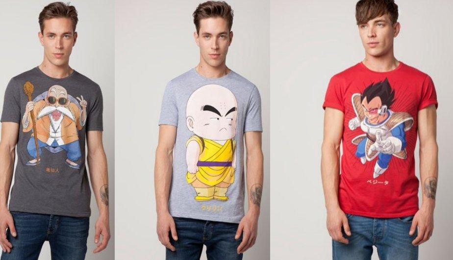 Moda Masculina: Dragon Ball llega a Bershka en forma de camisetas (FOTOS)