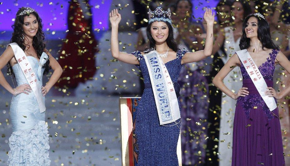 Miss World 2012: La coronación de Wen Xiayu, Miss China (FOTOS)