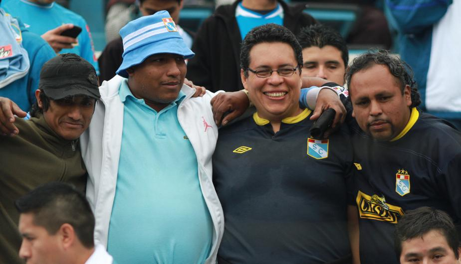 Hinchas de Sporting Cristal celebraron por la victoria sobre Sport Huancayo (FOTOS)