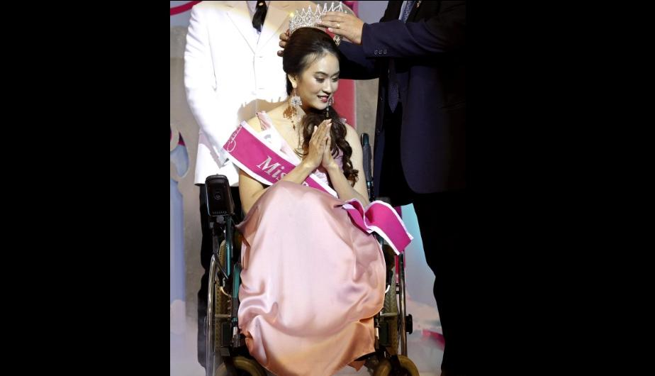 Tailandia: Eligen a la nueva &quot;Miss silla de ruedas 2012&quot; (FOTOS)