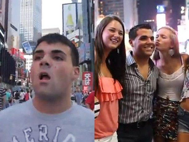 New York: &ldquo;Don Nadie&rdquo; se hace pasar por celebridad (VIDEO)