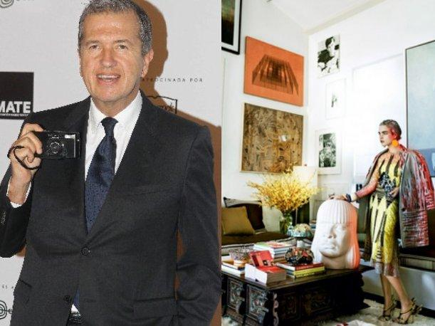La revista Vogue entra a la casa de Mario Testino (VIDEO)