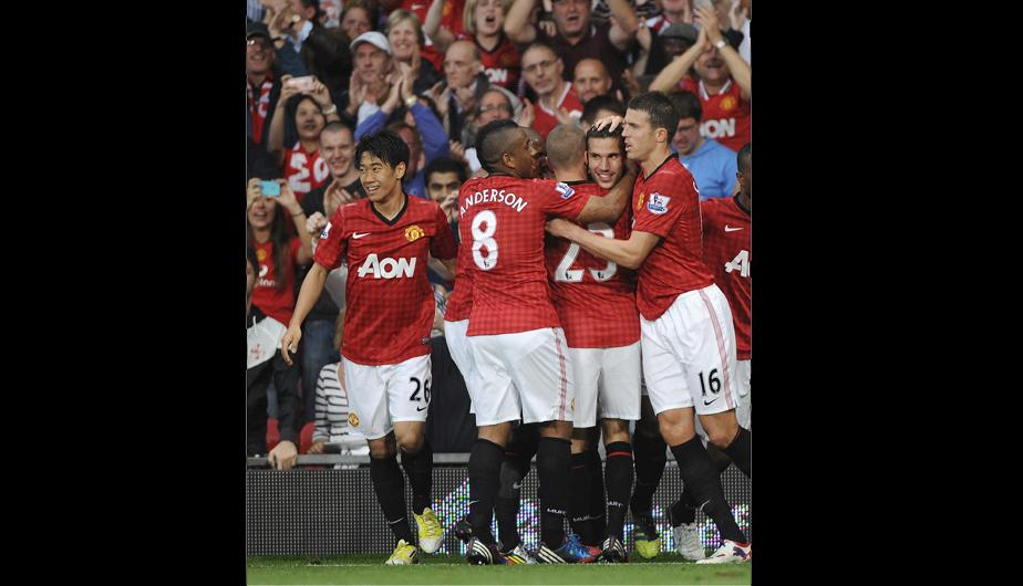 Manchester United vence al Fulham por 3-2 (FOTOS)
