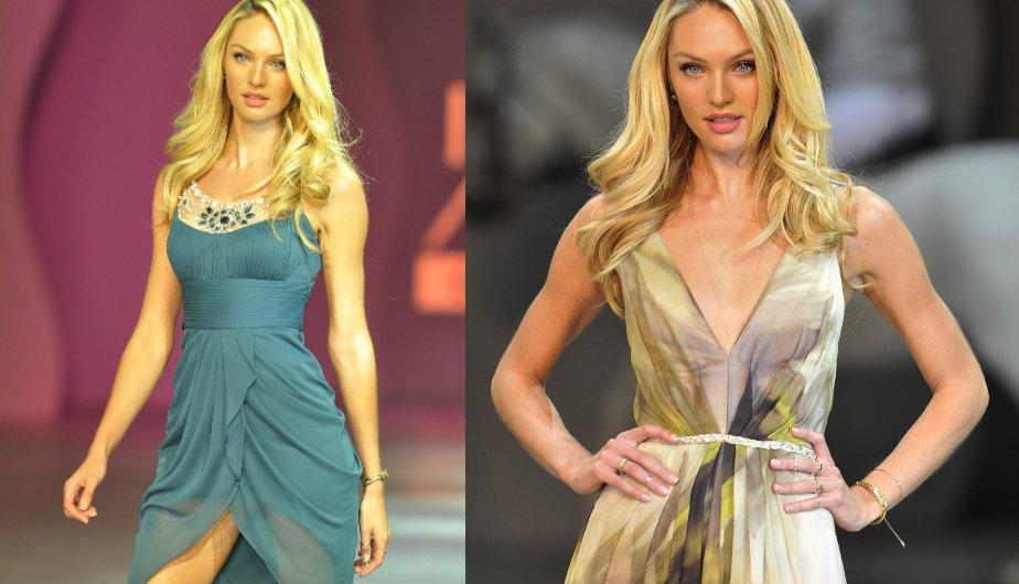 El &aacute;ngel de Victoria&#039;s Secret Candice Swanepoel desfila en M&eacute;xico (FOTOS)