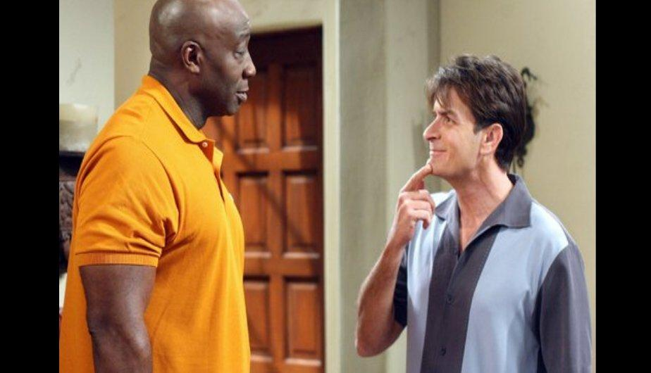 El actor apareció junto a Charlie Sheen en un capítulo de Two and a Half Men (Warner)