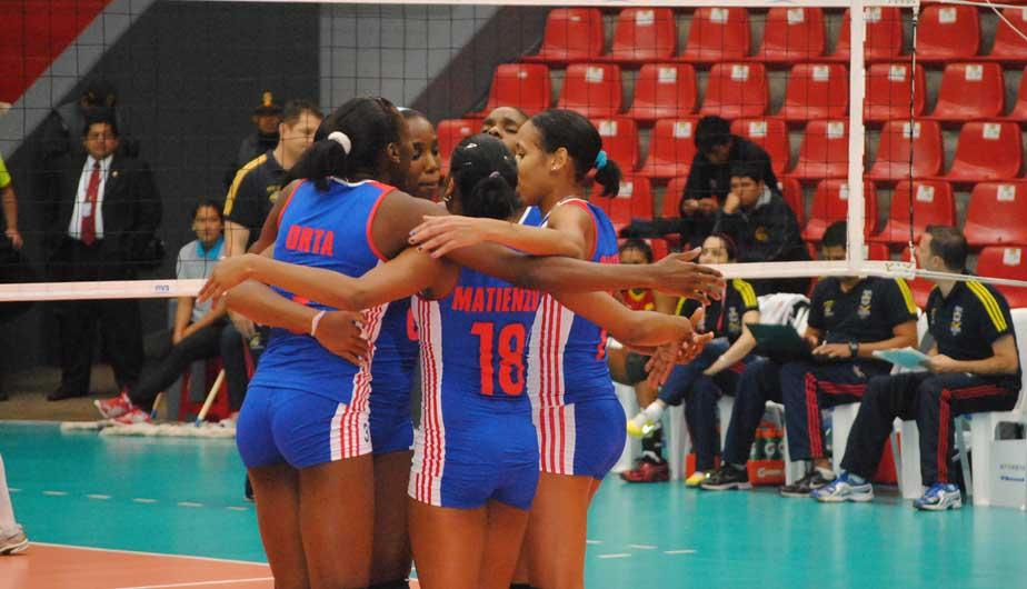 Cuba aplast&oacute; a Colombia en la I Copa Panamericana de V&oacute;ley Sub-23 (FOTOS)