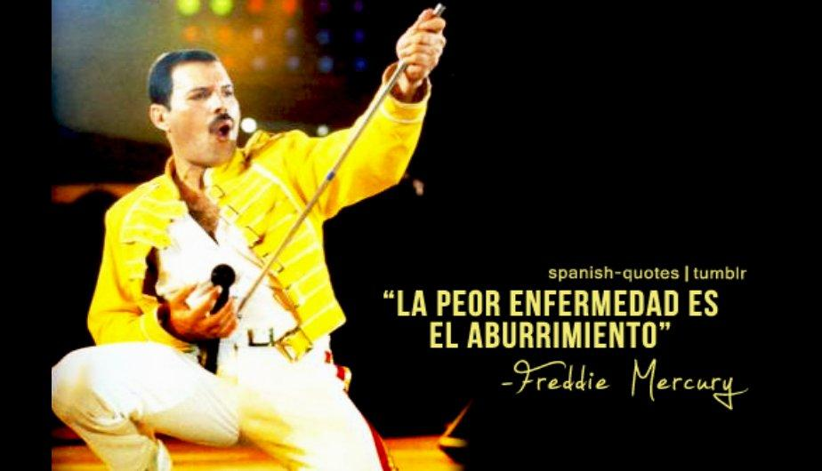 Las frases m&aacute;s emblem&aacute;ticas de Freddie Mercury (FOTOS)