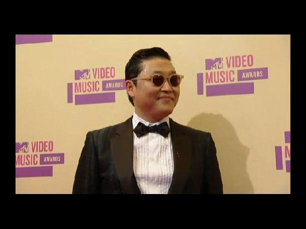 El cantante coreano PSY le puso &quot;Gangnam Style&quot; a los premios MTV